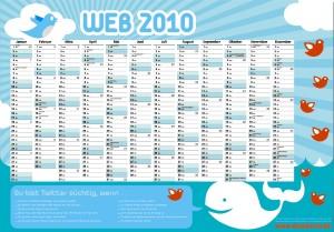 Twitter Kalender zu gewinnen