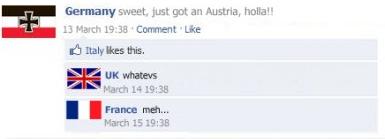Geschichtsunterricht auf Facebook