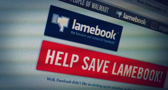 lamebook Zensur Facebook