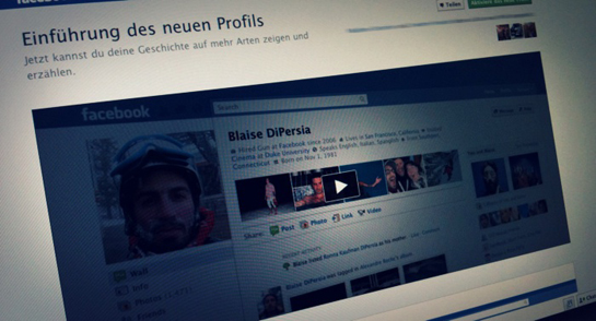 Neues Facebook Profil